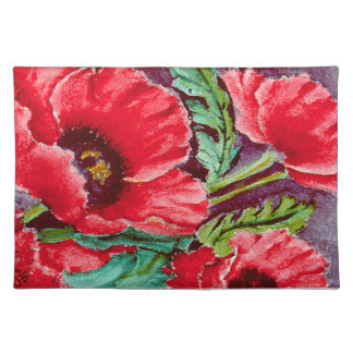 Red Poppies Place Mat