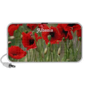 Red Poppies Portable Speaker