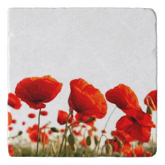 Red Poppies Trivet