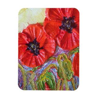 Red PoppiesPremium Magnet