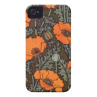Red Poppy iPhone 4 Case-Mate Case