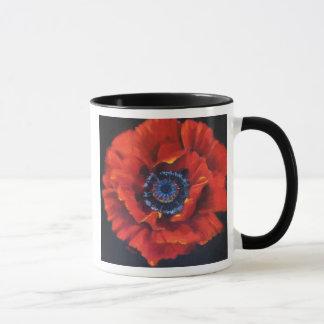 Red Poppy Ceramic Mug