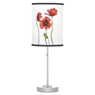 Red Poppy Designer Table Lamps