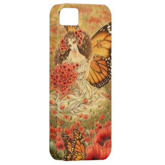 Red Poppy Fantasy iPhone 5 Case