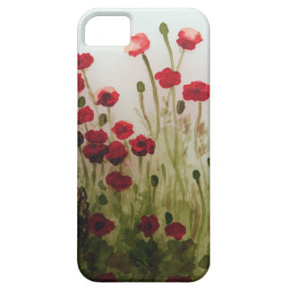 Red Poppy Field Case