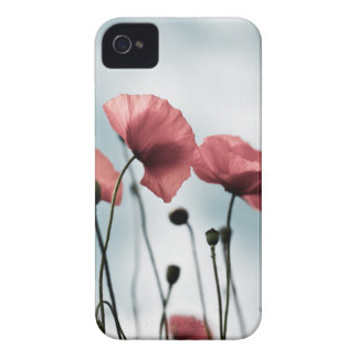 Red Poppy Flowers Case-Mate iPhone 4 Case