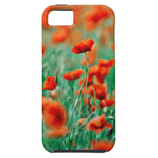 Red Poppy Flowers iPhone 5 Cases