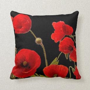 Poppy Decorative Throw Pillows Zazzle