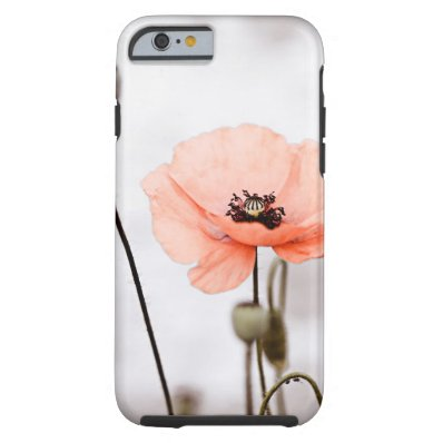 Red Poppy Flowers iPhone 6 Case