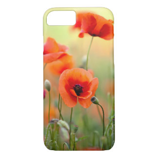 Red Poppy Flowers iPhone 7 Case
