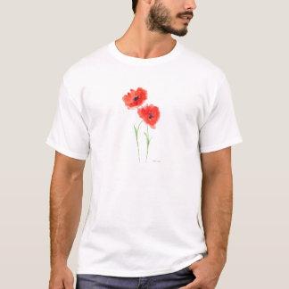 Red poppy flowers T-Shirt