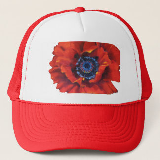 Red Poppy Hat