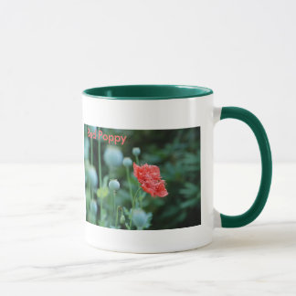 Red Poppy, In Flanders Fields Mug