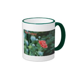 Red Poppy, In Flanders Fields Mug
