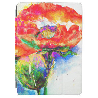 Red Poppy iPad Air Cover