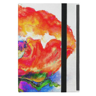 Red Poppy iPad Mini Cover