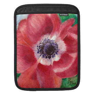Red Poppy Sleeves For iPads