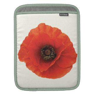 Red Poppy iPad Sleeves