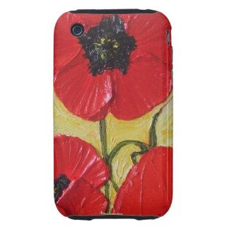 Red Poppy iPhone 3 Case