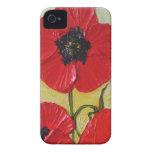 Red Poppy iPhone 4 Case