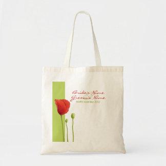 Red Poppy lime Gift Bag