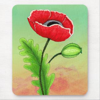 Red Poppy, Mousepad