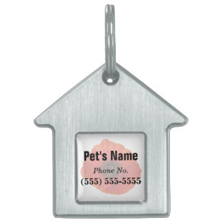 Red Poppy Pet ID Tags