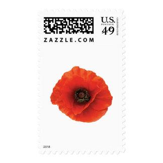Red Poppy Postage