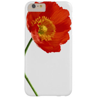 Red Poppy Simplicity Barely There iPhone 6 Plus Case