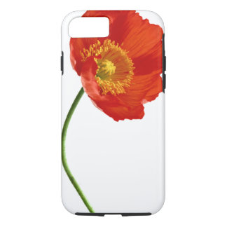 Red Poppy Simplicity iPhone 7 Case
