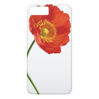 Red Poppy Simplicity iPhone 8 Plus/7 Plus Case