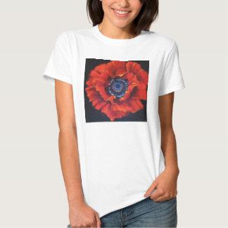 Red Poppy Tee Shirt