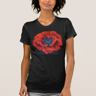 Red Poppy Tee Shirt