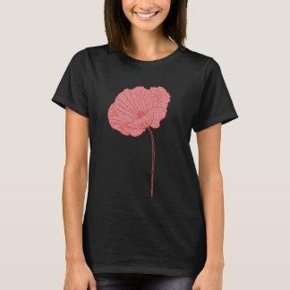 Red Poppy Tshirt - Art on Front & Back