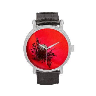 Red Poppy Watch