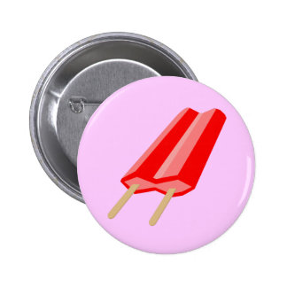 Red Popsicle Button