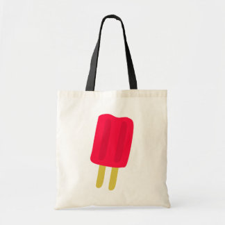 Red Popsicle Tote Bag