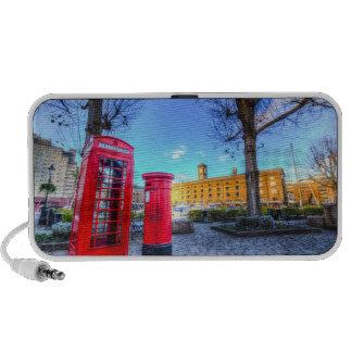 Red Post Box Phone box London iPod Speaker
