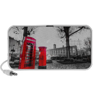 Red Post Box Phone box London Mp3 Speaker