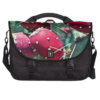 Red Prickly Pear Laptop Computer Bag