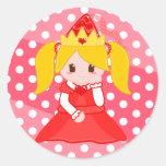 Red Princess 2 Sticker