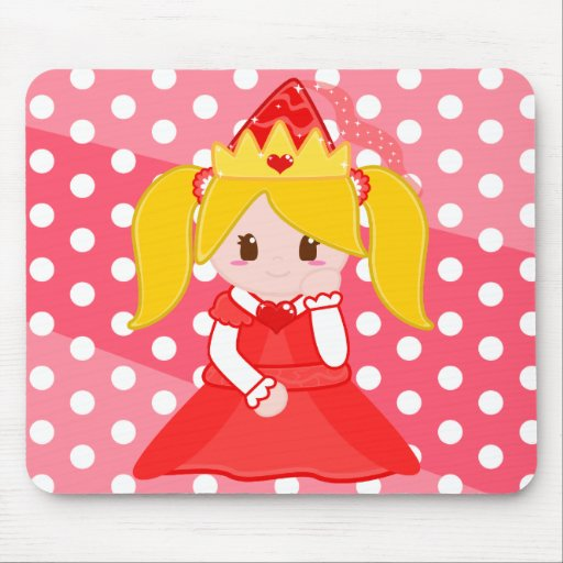Red Princess 3  Mousepad