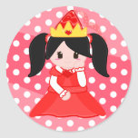 Red Princess Sticker