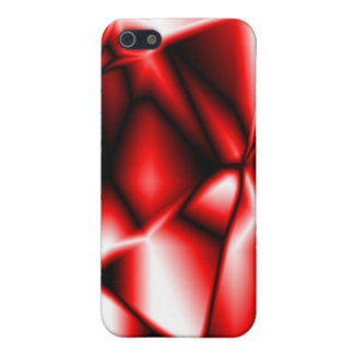 Red Print iPhone Case 4