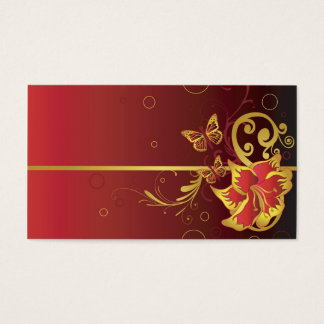 Red Profile Card