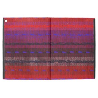Red Purple Blue Woven Bands iPad Pro Case