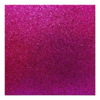 Red Purple Glitter Background Sparkle Glittery Poster