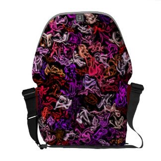 Red Purple Mix-Up Bag