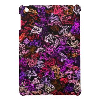 Red Purple Mix-Up iPad Case iPad Mini Covers