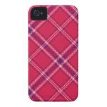 Red/Purple/Pink Tartan Plaid Blackberry Case
